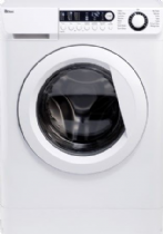 EBAC AWM86D2-WH White 8KG Washing Machine 1600rpm